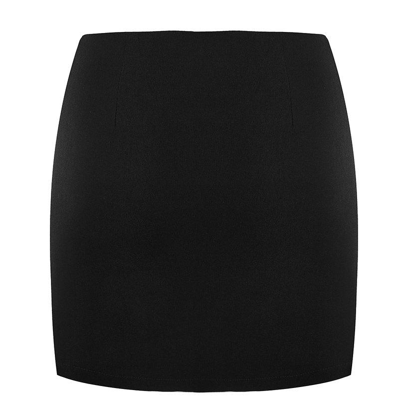 'Siren' O-ring cut out black skirt