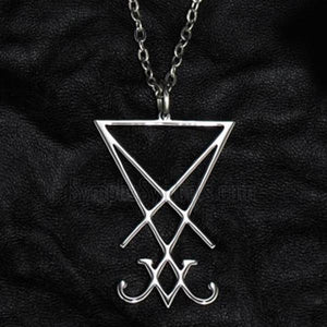 'Lucifer' pendant necklace