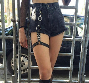 'Submission' Leg Strap Garter