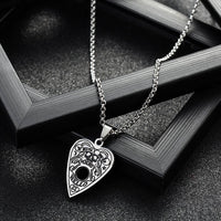 Sexy Ouija Board Planchette Necklace