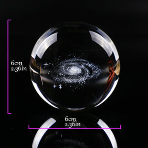Galaxy crystal ball