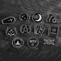 Rituals dark witchy pins