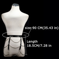 Chain harness belt