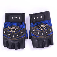 'Keeper' Studded PU Leather Gloves