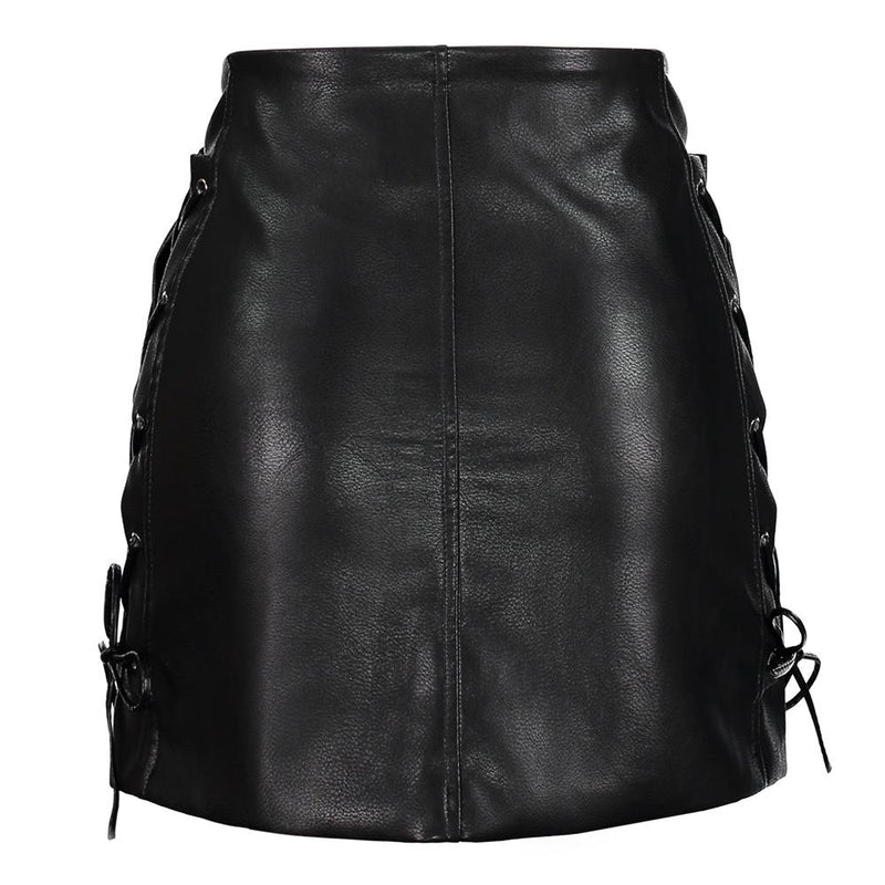 'Living Dead Girl' PU Skirt