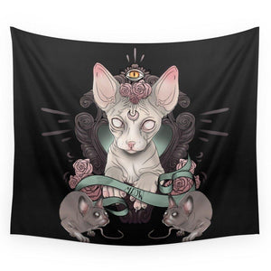 Sphynx Wall Tapestry