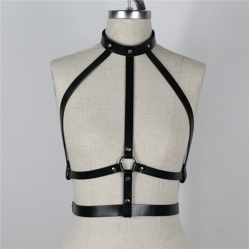 PU Leather Harness
