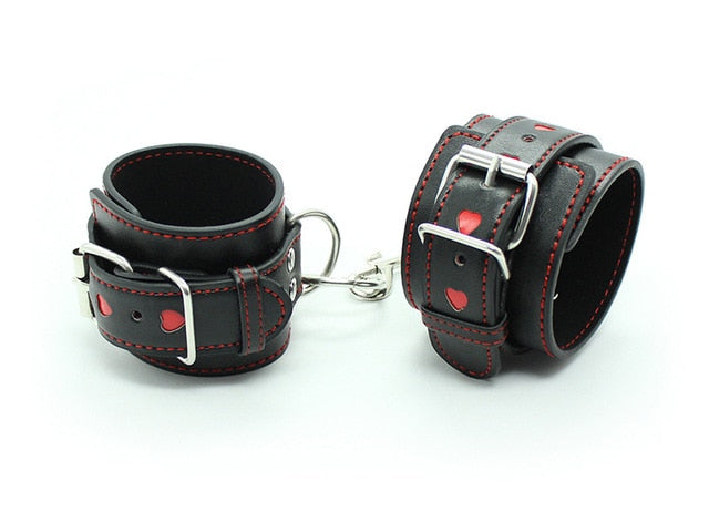 PU Leather BDSM Restraints