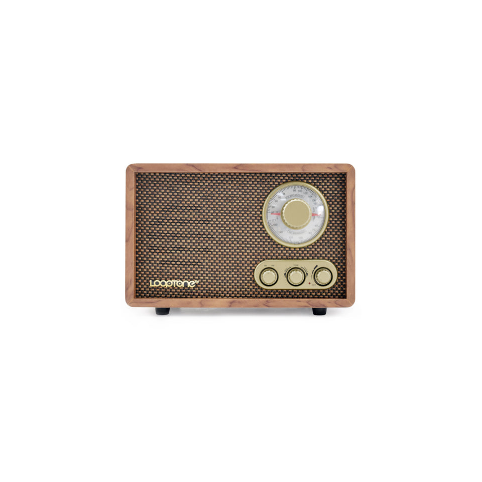 Handcrafted Retro Radio