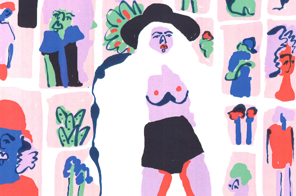 Amber Vittoria, A Girl With Her Airy, Colorful and Whimsical Art