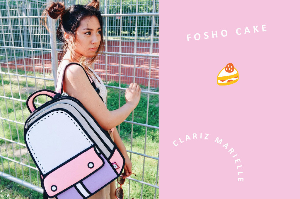 Fosho cake: 19 years old Clariz Marielle  is all over the creative fields