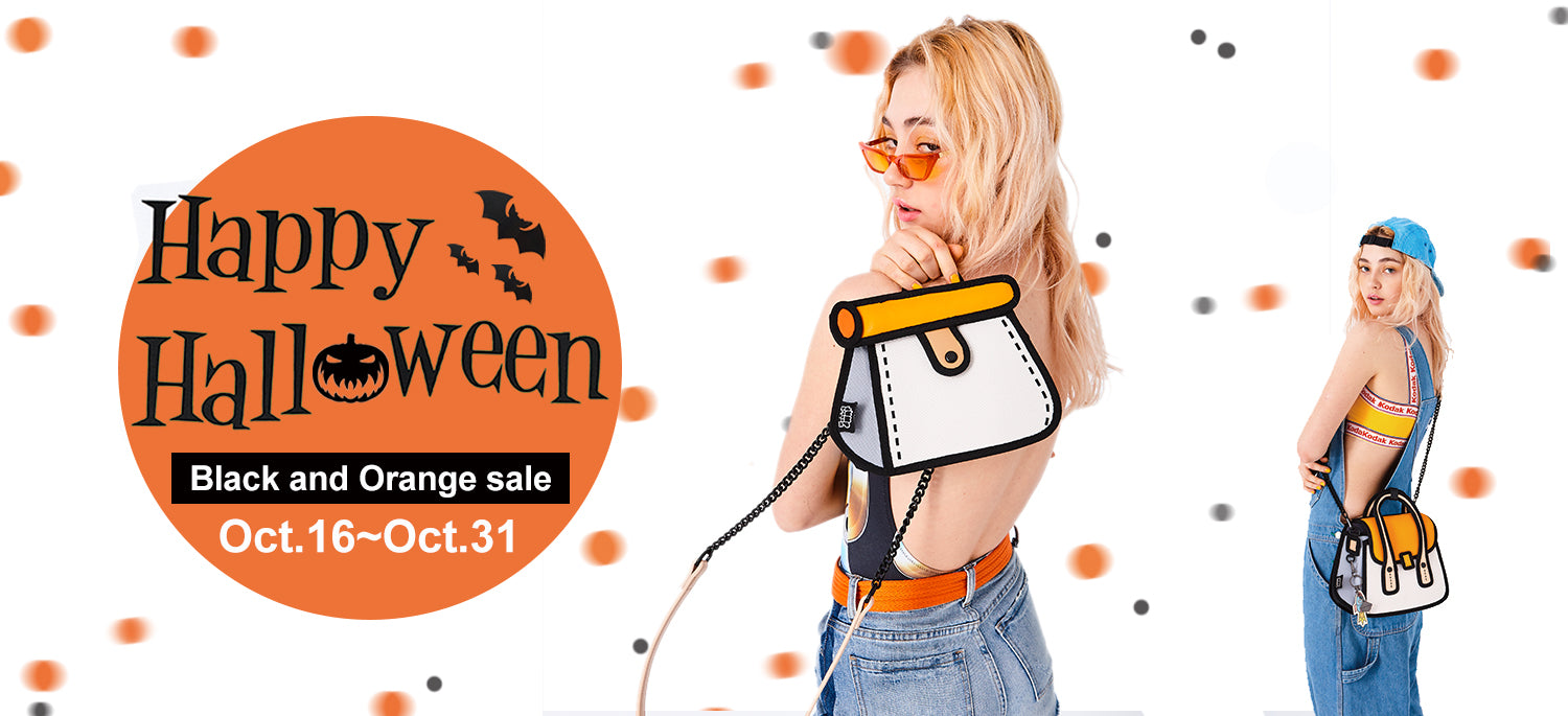Halloween Black & Orange Sale