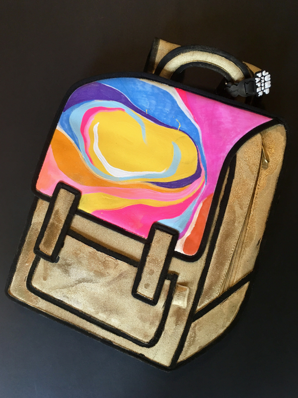 JumpFromPaper Cartoon Bag X Lizzie Quirke
