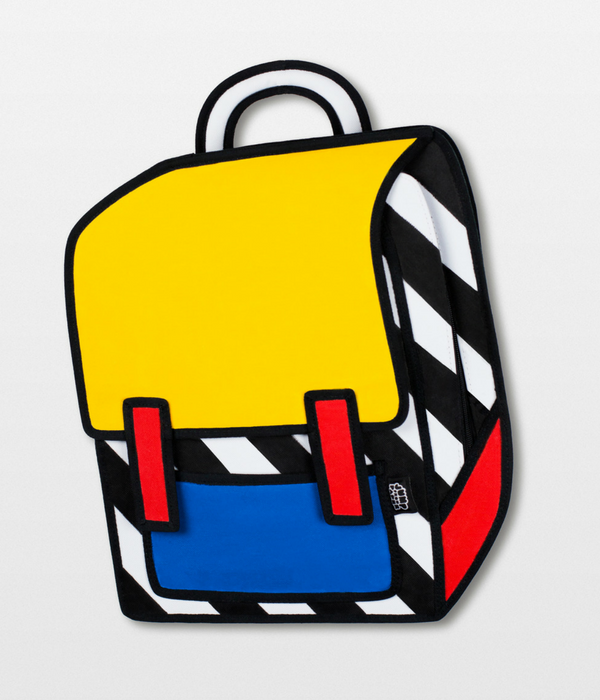 JumpFromPaper Cool Cartoon Bag