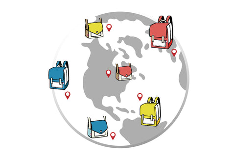JumpFromPaper Cartoon Bag Delivery Region