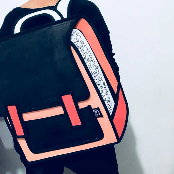 Amber Vittoria X JumpFromPaper Cartoon Bag