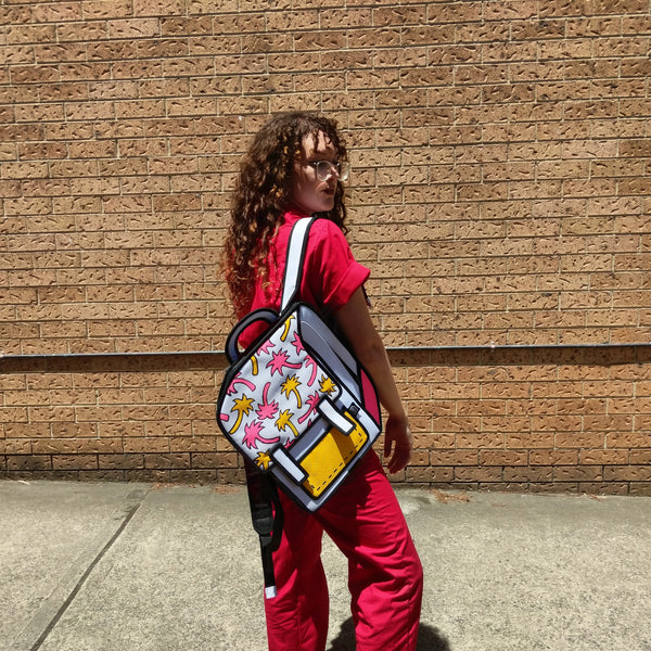 Martina Martian X JumpFromPaper Catoon Bag