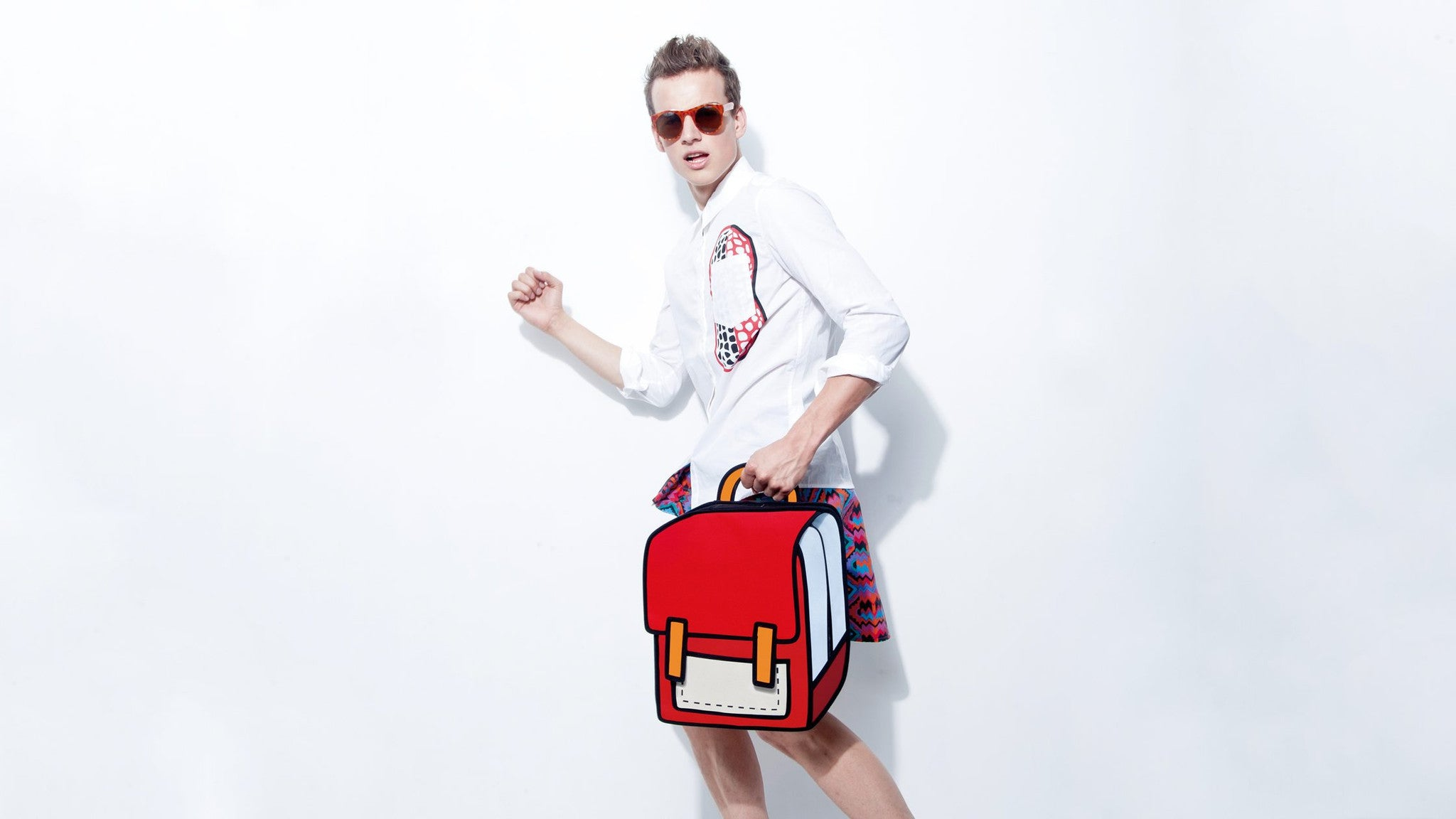 JumpFromPaper Cartoon Bag Classic Collection