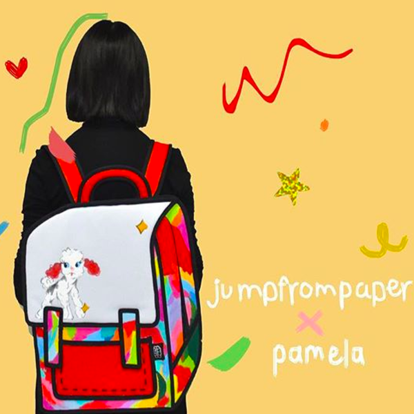 Pamela Sustaita X JumpFromPaper Cartoon Bag