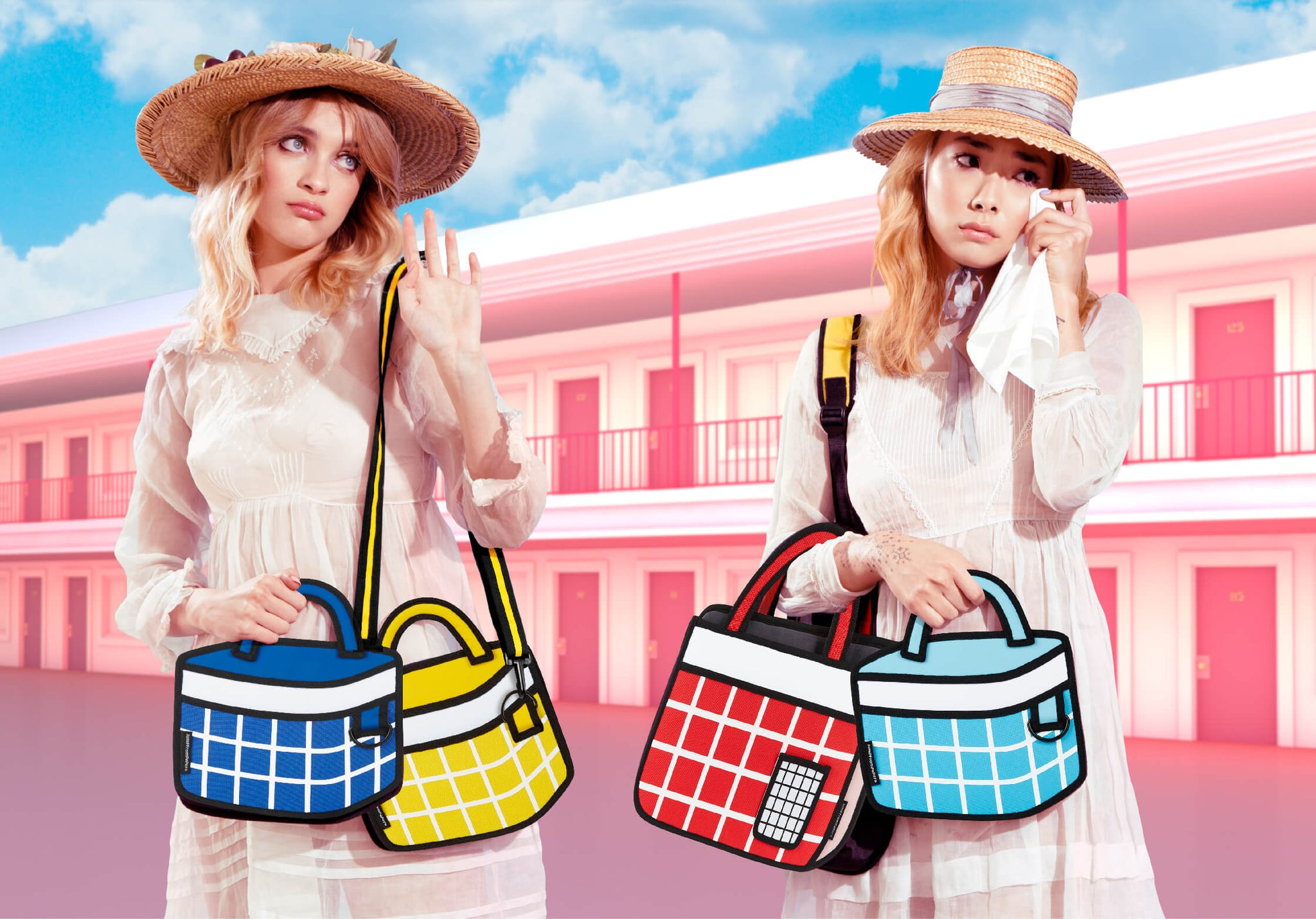 JumpFromPaper Cartoon Bag DREAMY PICNIC Collection