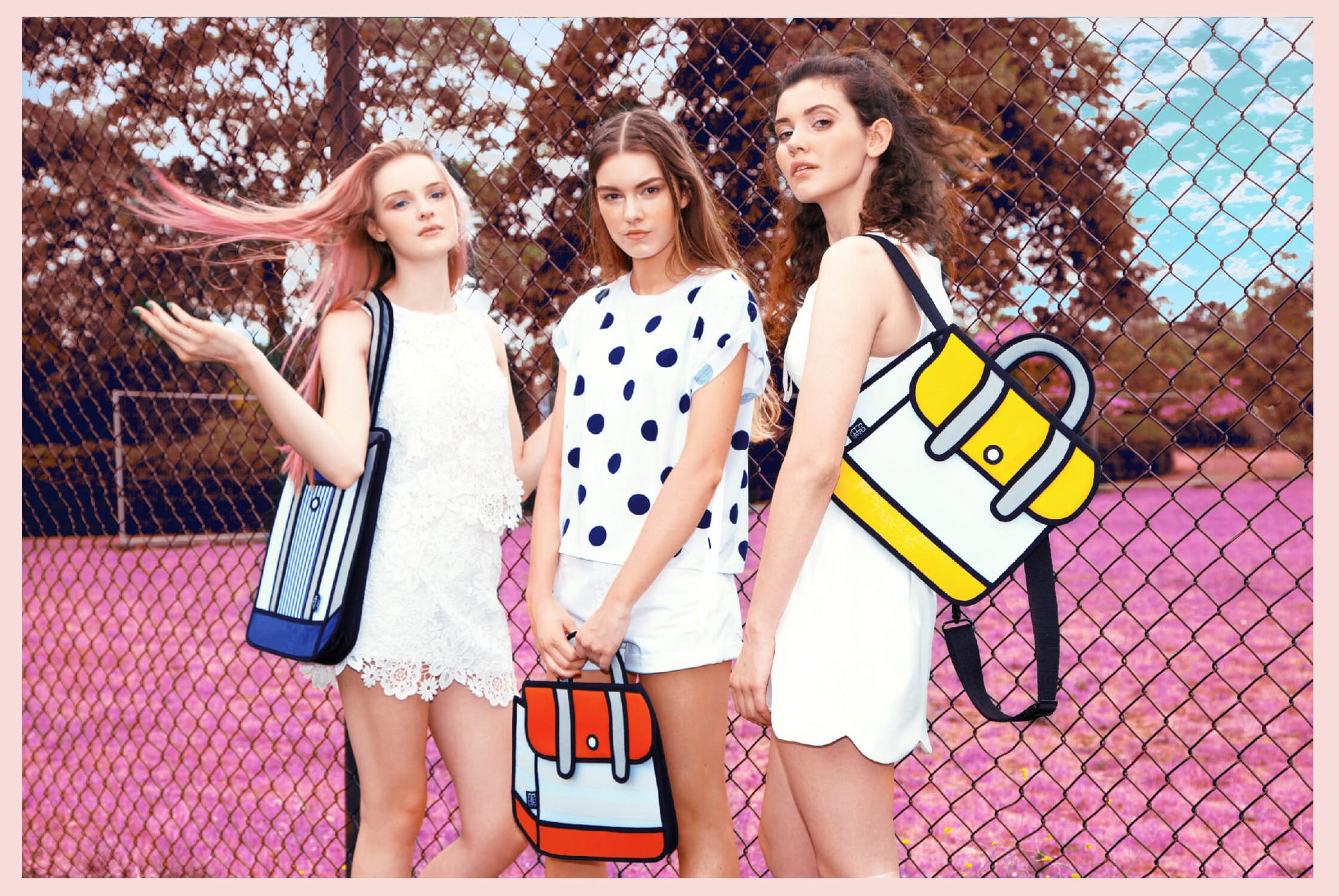 JumpFromPaper Cartoon Bag TEEN SPIRIT Collection