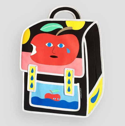 Dominic Kesterton X JumpFromPaper Cartoon Bag