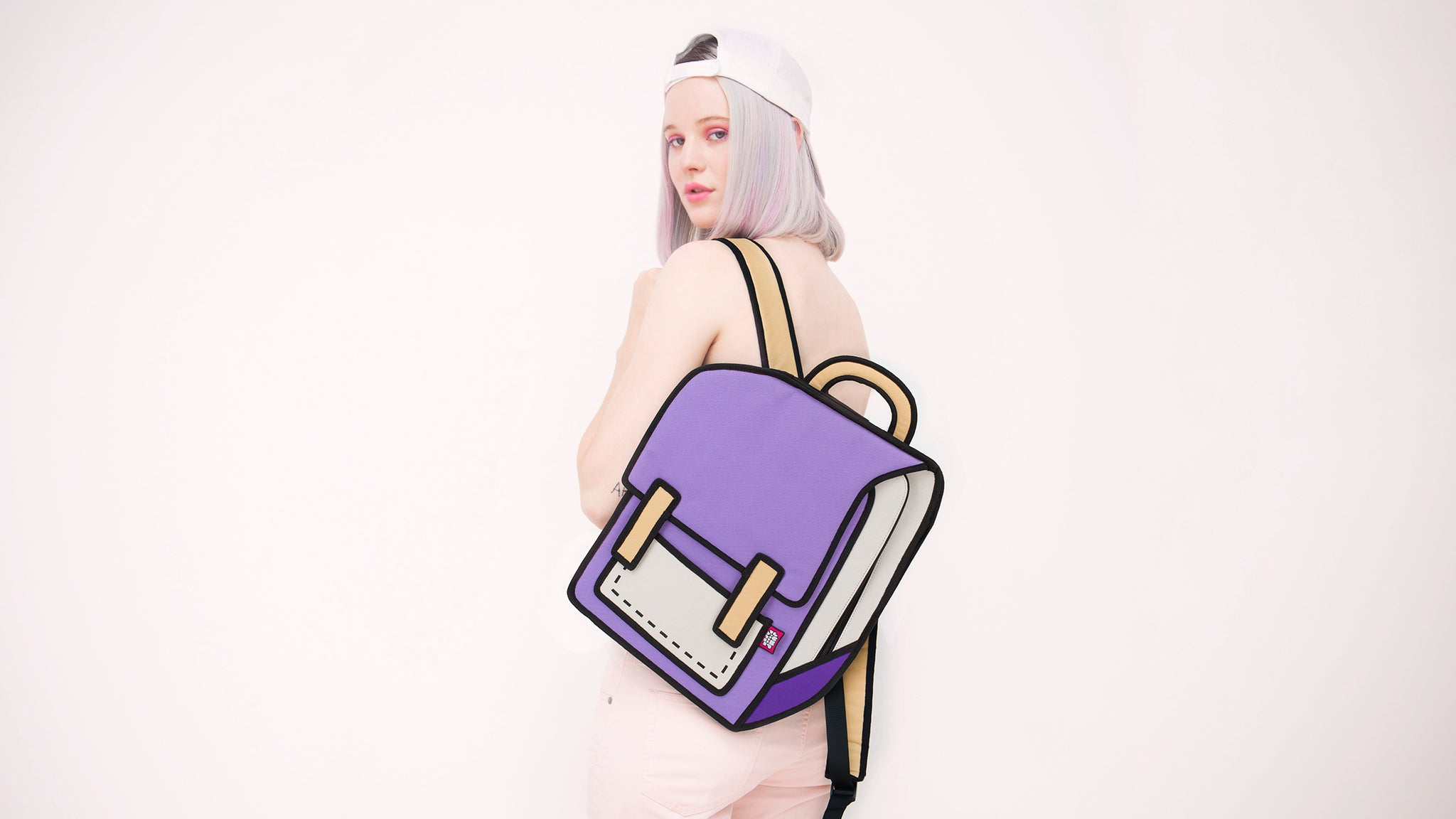JumpFromPaper Cartoon Bag Pink Collection