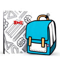 Gift Wrap for Airy Blue Spaceman Backpack