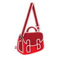 Chili Red Chubby Satchel - JumpFromPaper