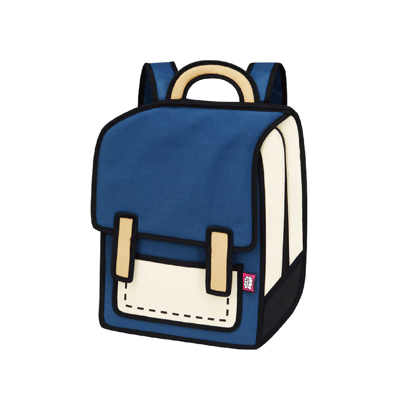 Coo Coo Blue Spaceman Backpack - JumpFromPaper