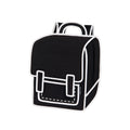 Graffiti Black Spaceman Backpack - JumpFromPaper