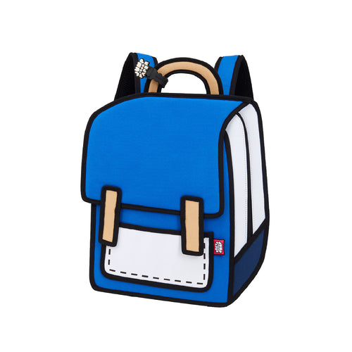True Blue Spaceman Backpack - JumpFromPaper