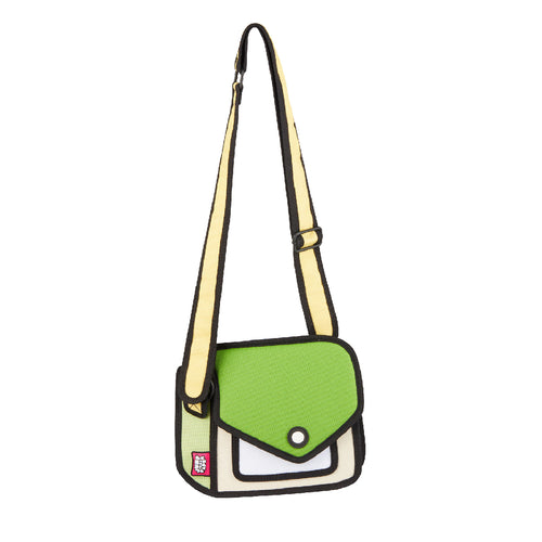 Junior Giggle Greenery Shoulder Bag - JumpFromPaper