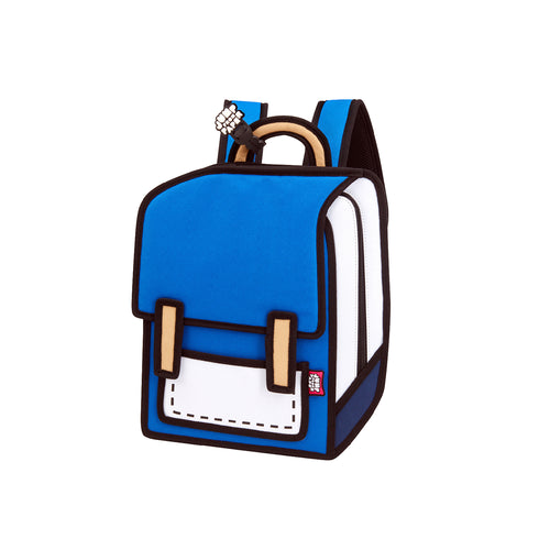 372df888adfcb Junior True Blue Spaceman Backpack - JumpFromPaper