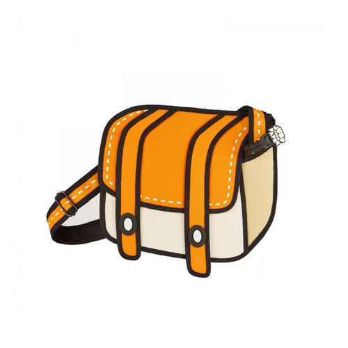 Cheese Orange Shoulder Bag - JumpFromPaper