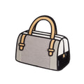 Woolen Grey Handbag - JumpFromPaper