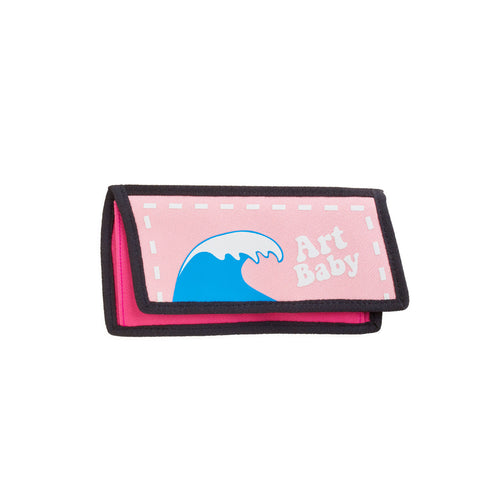 Art Baby Pink Purse - JumpFromPaper