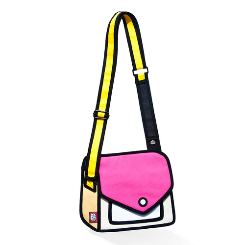 Giggle Red Shoulder Bag - JumpFromPaper