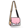 Giggle Pink Shoulder Bag - JumpFromPaper
