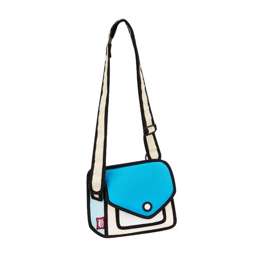 Junior Giggle Airy Blue Shoulder Bag - JumpFromPaper