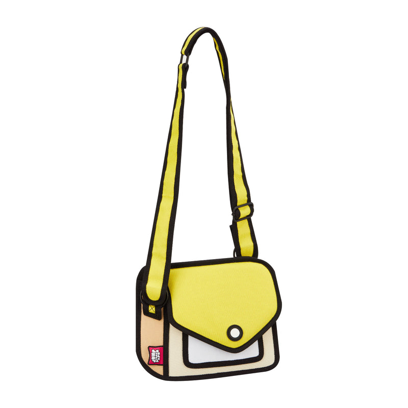 Junior Giggle Minion Yellow Shoulder Bag - JumpFromPaper