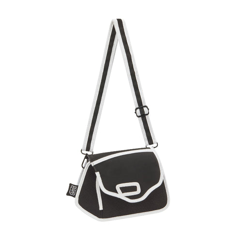 Graffiti Black Clicky Shoulder Bag - JumpFromPaper