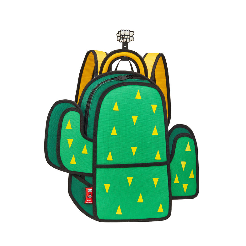 Cactus Backpack-Green - JumpFromPaper