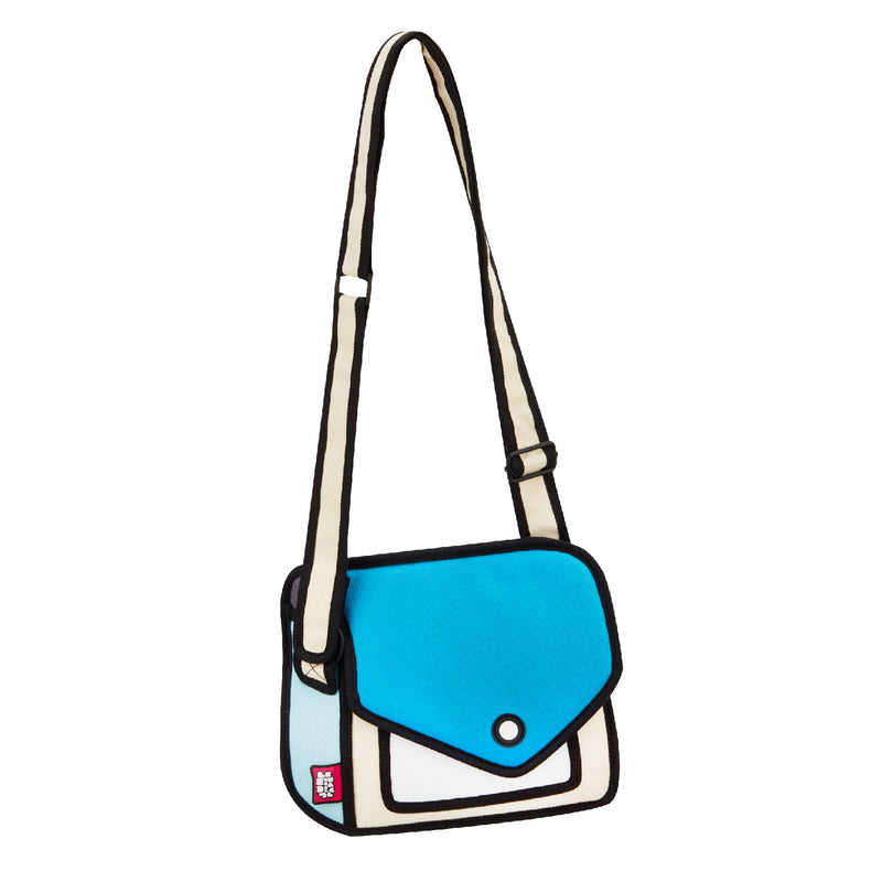Giggle Airy Blue Shoulder Bag - JumpFromPaper