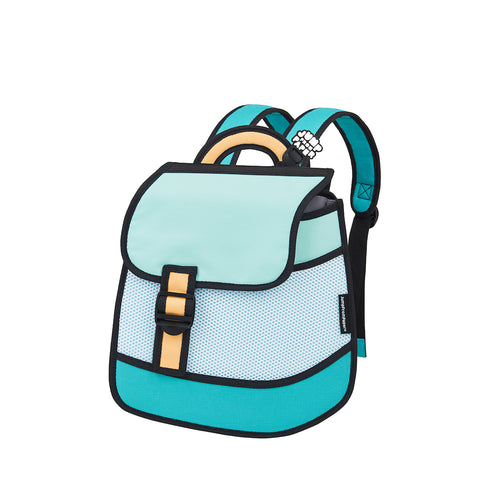 Heatwave Green Backpack - JumpFromPaper
