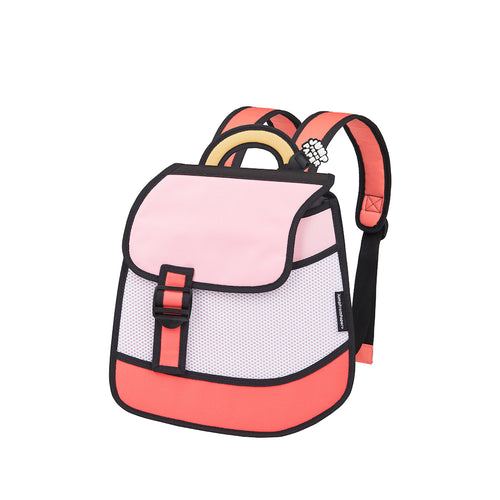 Heatwave Pink Backpack - JumpFromPaper