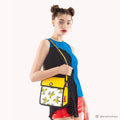 Banana Printed Yellow Shoulder Bag - JumpFromPaper
