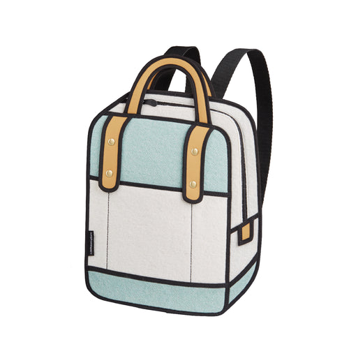 Woolen Turquoise Backpack - JumpFromPaper