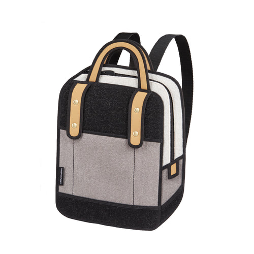 Woolen Grey Backpack - JumpFromPaper