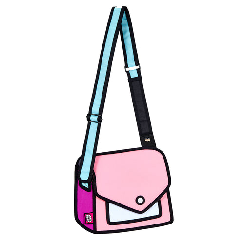 Neon Pink Giggle Shoulder Bag